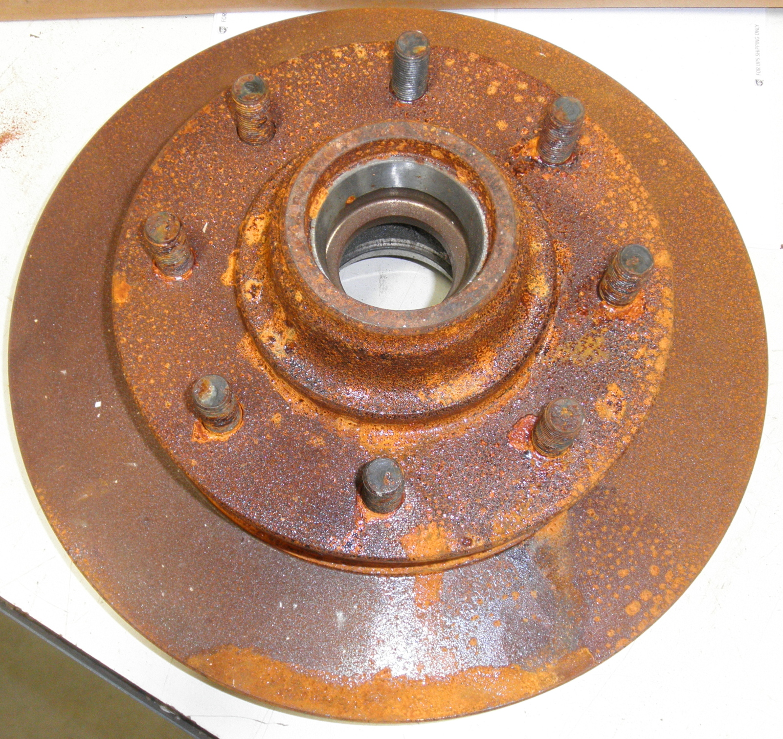 Chevy G30 Front Rotor Raybestos 55748 56263 No Front ABS